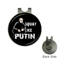 Squat Like Putin Hat Clips With Golf Markers