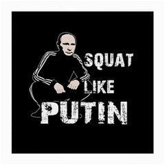 Squat Like Putin Medium Glasses Cloth