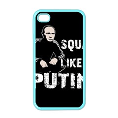 Squat Like Putin Apple Iphone 4 Case (color)