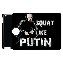 Squat Like Putin Apple Ipad 2 Flip 360 Case
