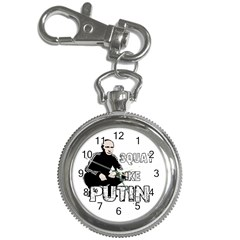 Squat Like Putin Key Chain Watches
