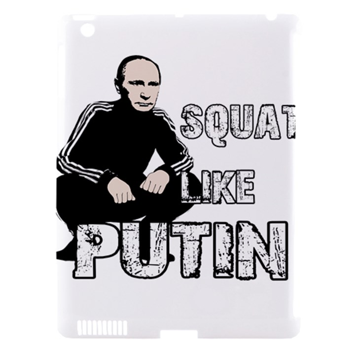Squat like Putin Apple iPad 3/4 Hardshell Case (Compatible with Smart Cover)