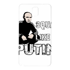 Squat Like Putin Samsung Galaxy Note 3 N9005 Hardshell Back Case