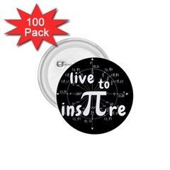 Pi Day 1 75  Buttons (100 Pack)