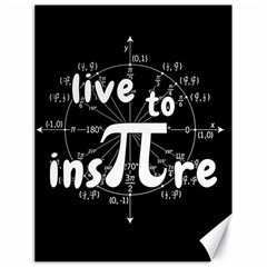 Pi Day Canvas 18  X 24