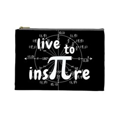 Pi Day Cosmetic Bag (large)