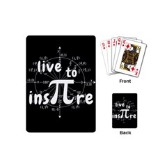 Pi Day Playing Cards (mini)
