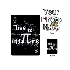 Pi Day Playing Cards 54 (mini)
