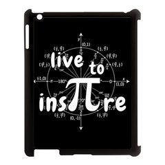 Pi Day Apple Ipad 3/4 Case (black)