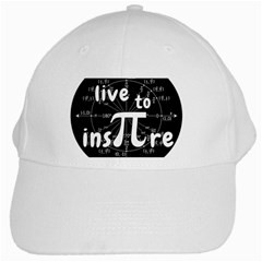 Pi Day White Cap