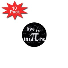 Pi Day 1  Mini Buttons (10 Pack)