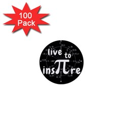 Pi Day 1  Mini Buttons (100 Pack)
