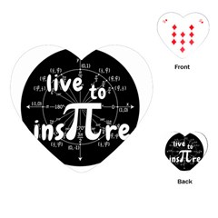 Pi Day Playing Cards (heart)