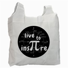 Pi Day Recycle Bag (one Side)