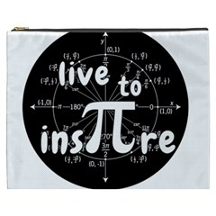 Pi Day Cosmetic Bag (xxxl)
