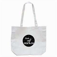 Pi Day Tote Bag (white)