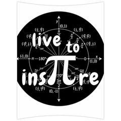 Pi Day Back Support Cushion
