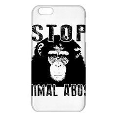 Stop Animal Abuse   Chimpanzee  Iphone 6 Plus/6s Plus Tpu Case