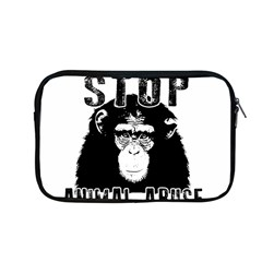 Stop Animal Abuse   Chimpanzee  Apple Macbook Pro 13  Zipper Case