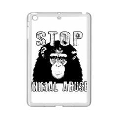 Stop Animal Abuse   Chimpanzee  Ipad Mini 2 Enamel Coated Cases