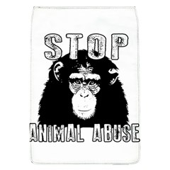Stop Animal Abuse   Chimpanzee  Flap Covers (l)