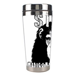 Stop Animal Abuse   Chimpanzee  Stainless Steel Travel Tumblers