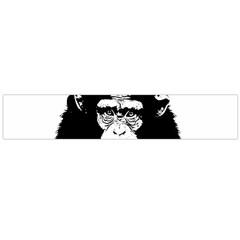 Stop Animal Abuse   Chimpanzee  Large Flano Scarf