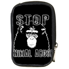 Stop Animal Abuse   Chimpanzee  Compact Camera Cases