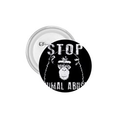 Stop Animal Abuse   Chimpanzee  1 75  Buttons
