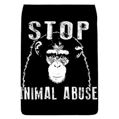 Stop Animal Abuse   Chimpanzee  Flap Covers (s)