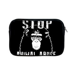 Stop Animal Abuse   Chimpanzee  Apple Ipad Mini Zipper Cases