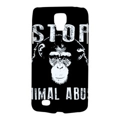 Stop Animal Abuse   Chimpanzee  Galaxy S4 Active