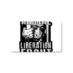 Animal Liberation Front   Chimpanzee  Magnet (name Card)