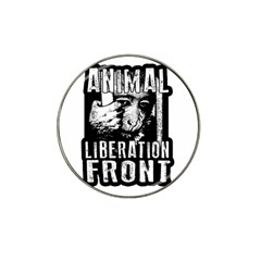 Animal Liberation Front   Chimpanzee  Hat Clip Ball Marker (4 Pack)
