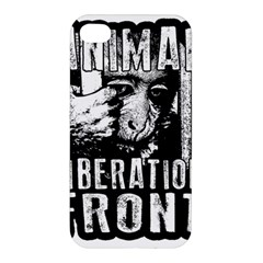 Animal Liberation Front   Chimpanzee  Apple Iphone 4/4s Hardshell Case