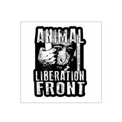 Animal Liberation Front   Chimpanzee  Satin Bandana Scarf