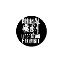 Animal Liberation Front   Chimpanzee  Golf Ball Marker