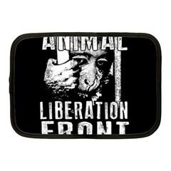 Animal Liberation Front   Chimpanzee  Netbook Case (medium)