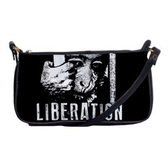 Animal Liberation Front   Chimpanzee  Shoulder Clutch Bags