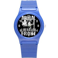 Animal Liberation Front   Chimpanzee  Round Plastic Sport Watch (s)