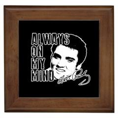Elvis Presley Framed Tiles