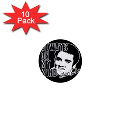 Elvis Presley 1  Mini Buttons (10 Pack)