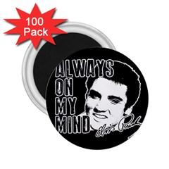 Elvis Presley 2 25  Magnets (100 Pack)