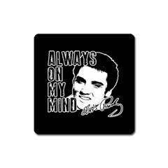 Elvis Presley Square Magnet