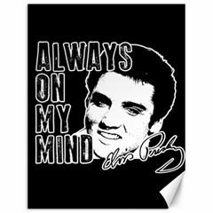 Elvis Presley Canvas 12  X 16