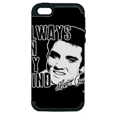 Elvis Presley Apple Iphone 5 Hardshell Case (pc+silicone)