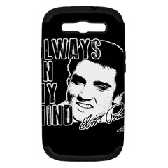Elvis Presley Samsung Galaxy S Iii Hardshell Case (pc+silicone)