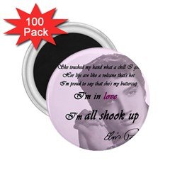 Elvis Presley   All Shook Up 2 25  Magnets (100 Pack)
