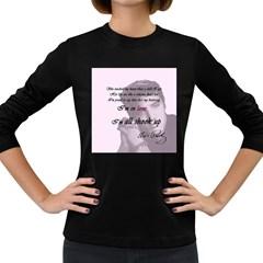 Elvis Presley   All Shook Up Women s Long Sleeve Dark T Shirts