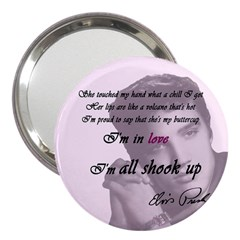 Elvis Presley   All Shook Up 3  Handbag Mirrors